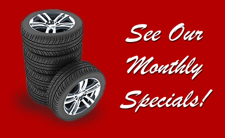 See Our Monthly Specials!